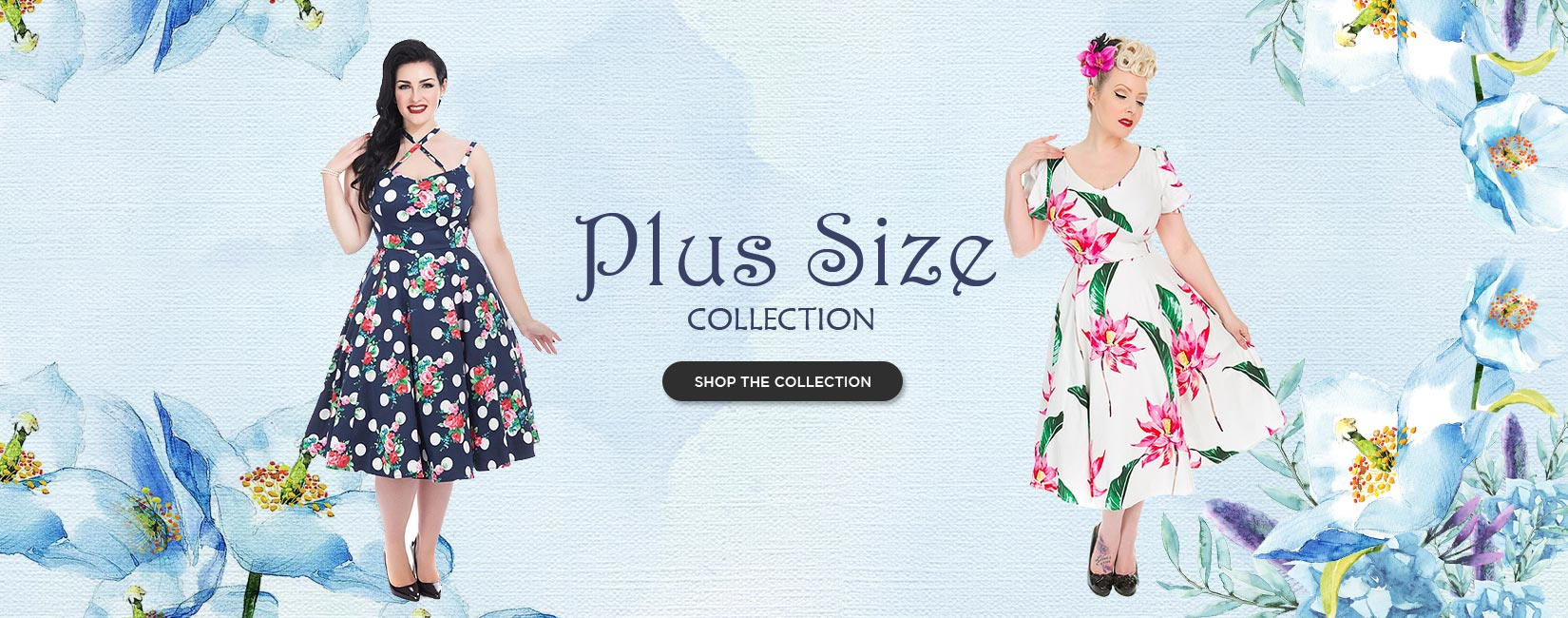 New Plus Size Banner